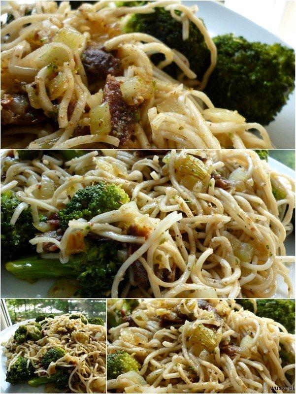 chow mein anchois brokul kolaz 28. Chow mein z anchois i brokułem