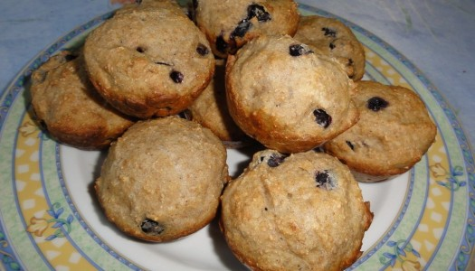 59. Muffinki z aronii