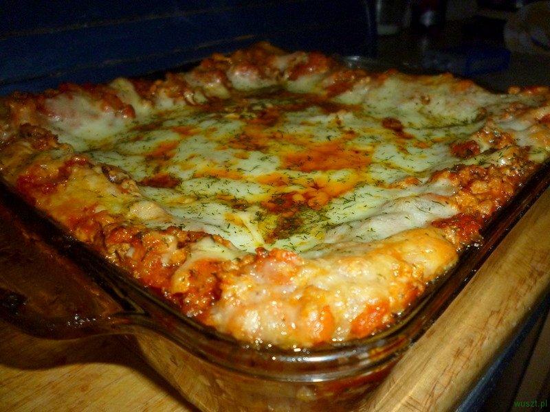 lasagne mieso mielone 1 70. Lasagne