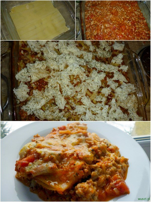 lasagne mieso mielone 2 70. Lasagne