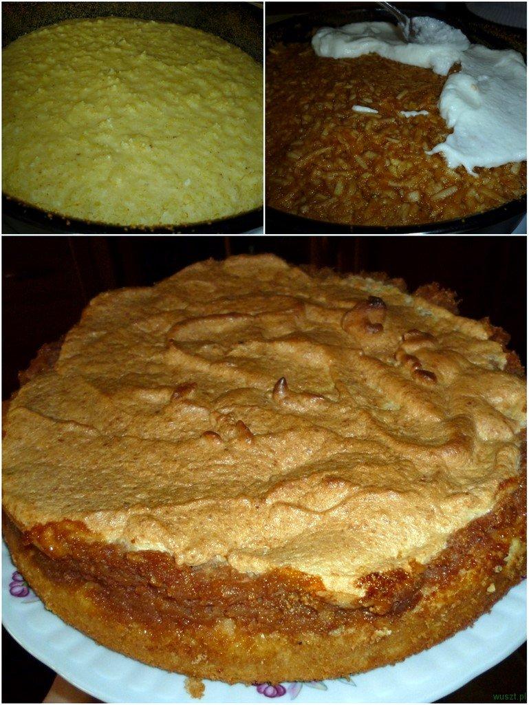 ciasto kokosowo jablkowe z kasza jaglana1 76. Ciasto kokosowo jabłkowe na kaszy jaglanej