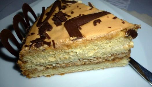 83. Tort kawowo-likierowy (Baileys)