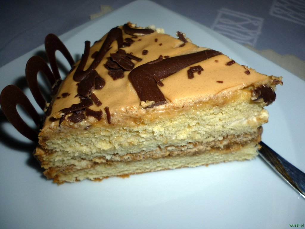 tort kawowo likierowy2 83. Tort kawowo likierowy (Baileys)