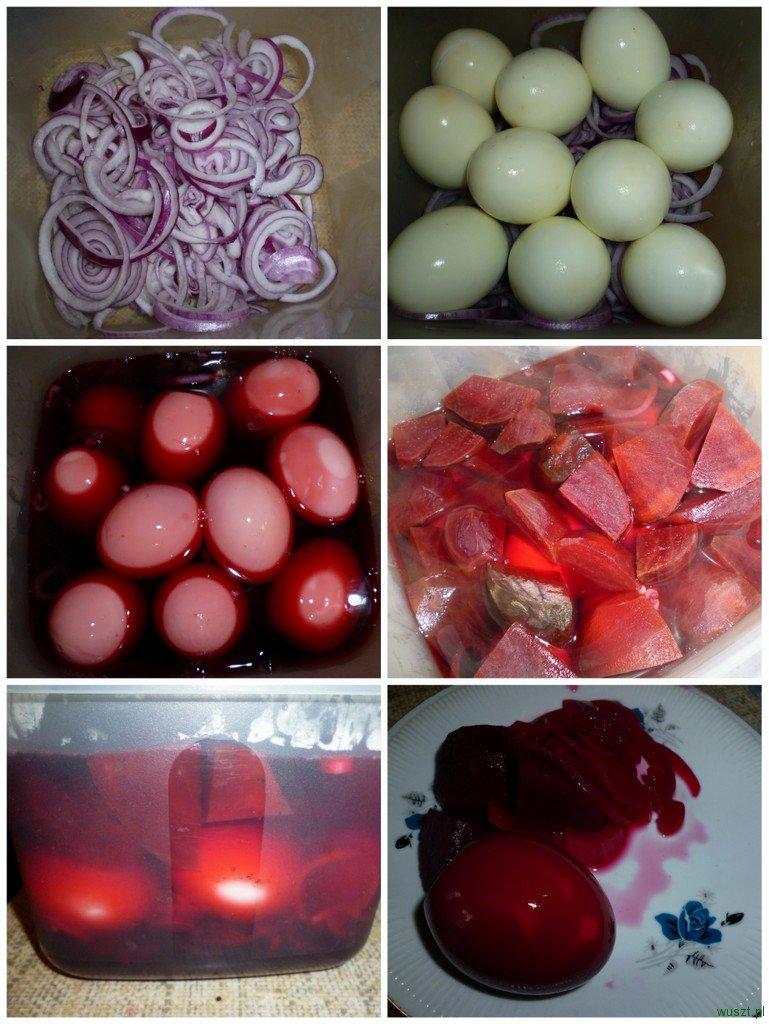 marynowane jajka2 85. Marynowane jajka (buraczki, ocet i cukier!)
