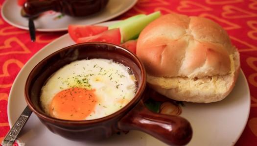98. Zapiekane jajka czyli śniadanie idealne