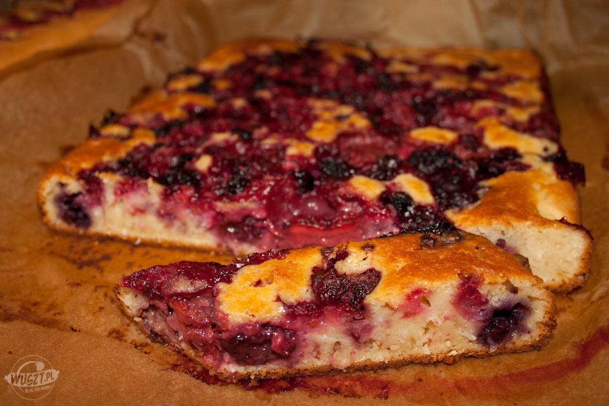 lesno owocowe ciasto maslankowe 99. Ciasto maślankowo kokosowe z owoców leśnych