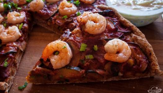 104. Pizza z krewetkami [Montignac, Węglowodany]